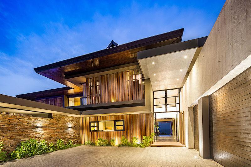 Reserve House exterior walls