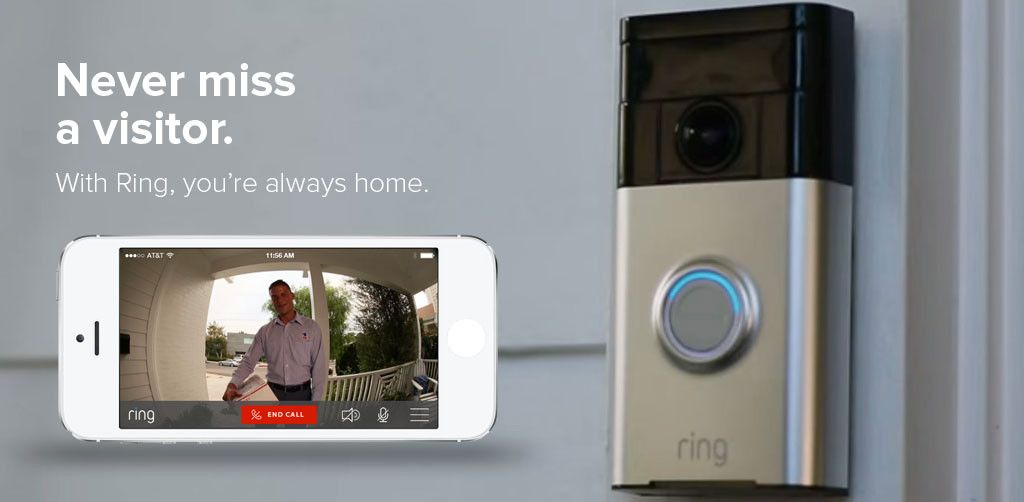 Ring doorbell video