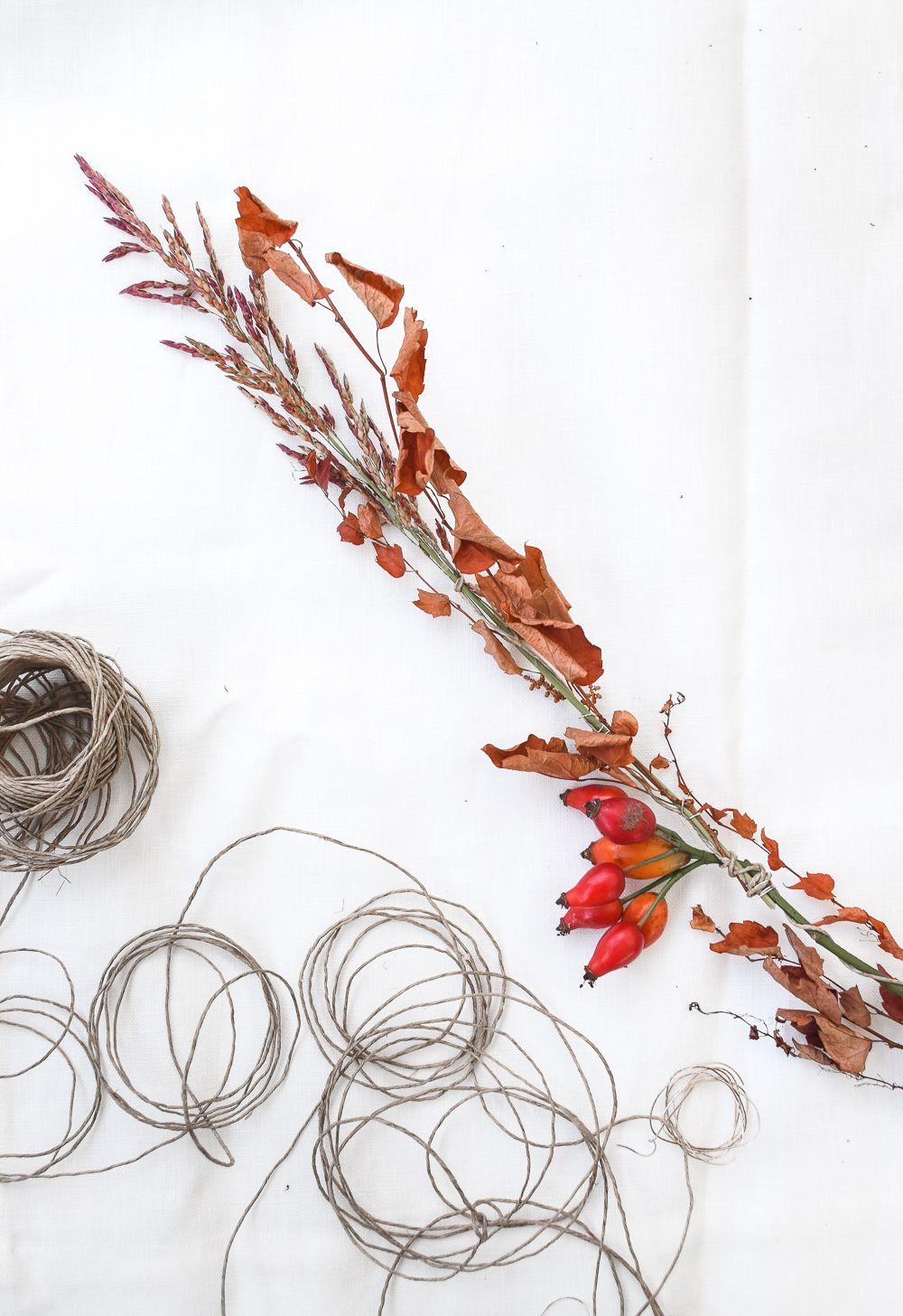 万圣节秋天的季节性花环