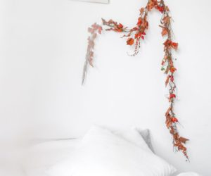 Make a Simple Garland For the Autumn Season