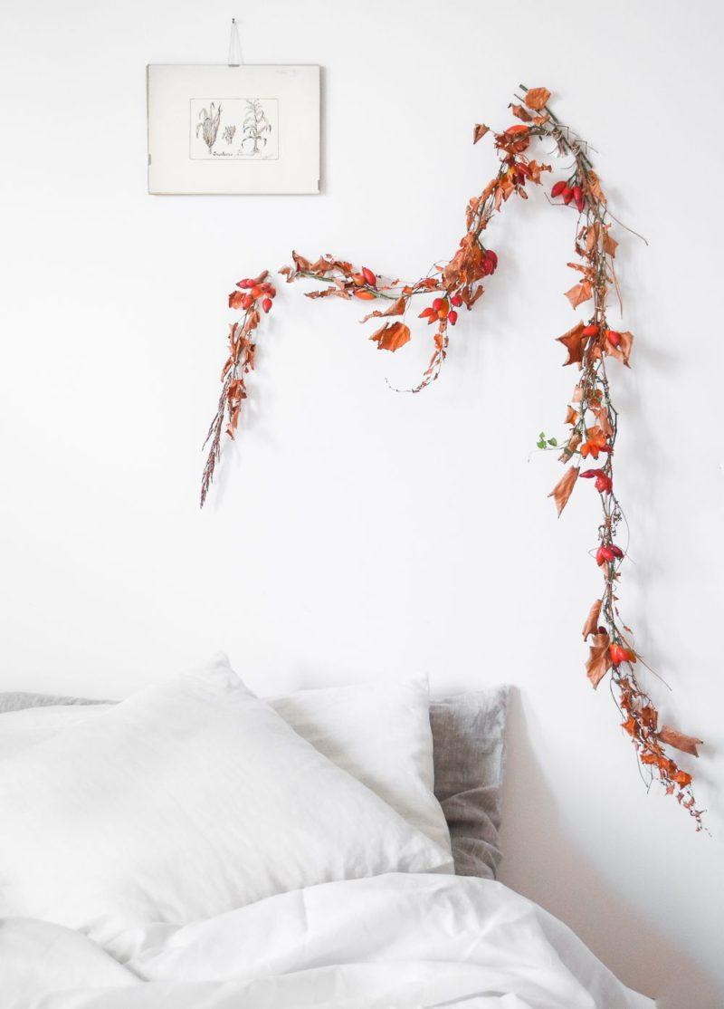Make a Simple Garland For the Autumn Season