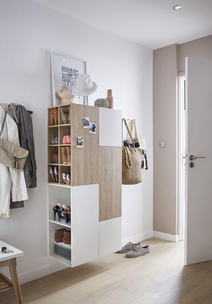 10 ideas to store shoes in your entryway for Amenagement interieur armoire