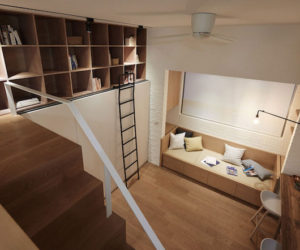 Tiny Loft In Taipei Is Full Of Clever Spatial Solutions