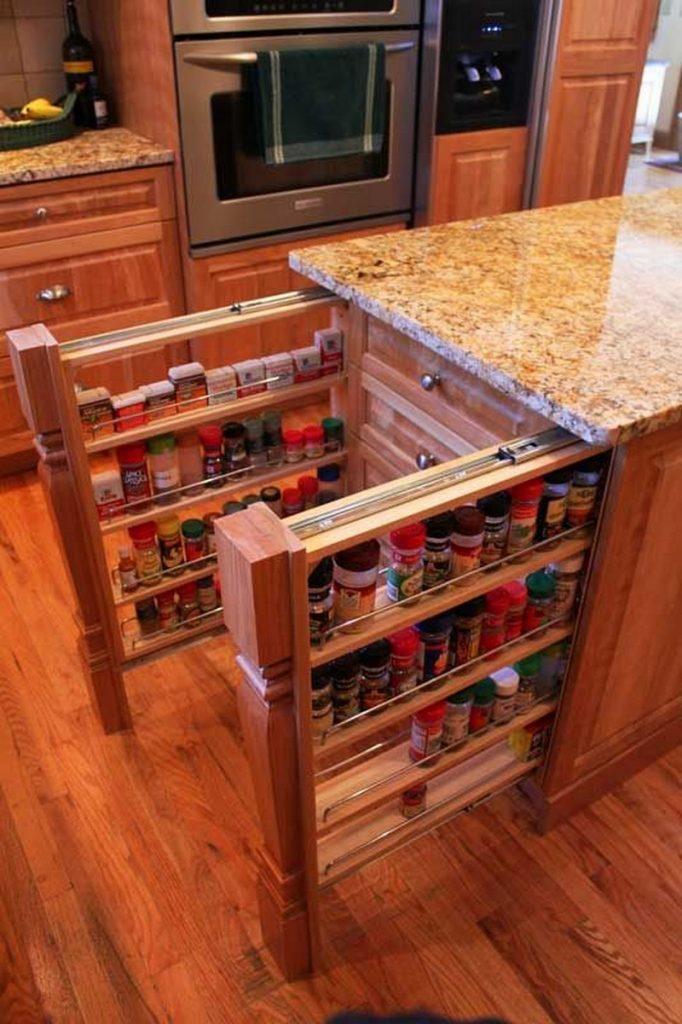 Spice Storage Kitchen Island View In Gallery