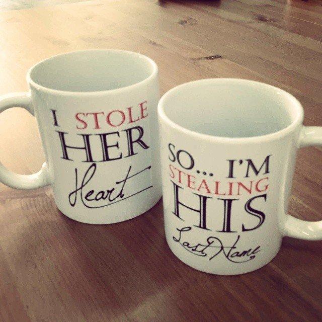 Stole her heart mug
