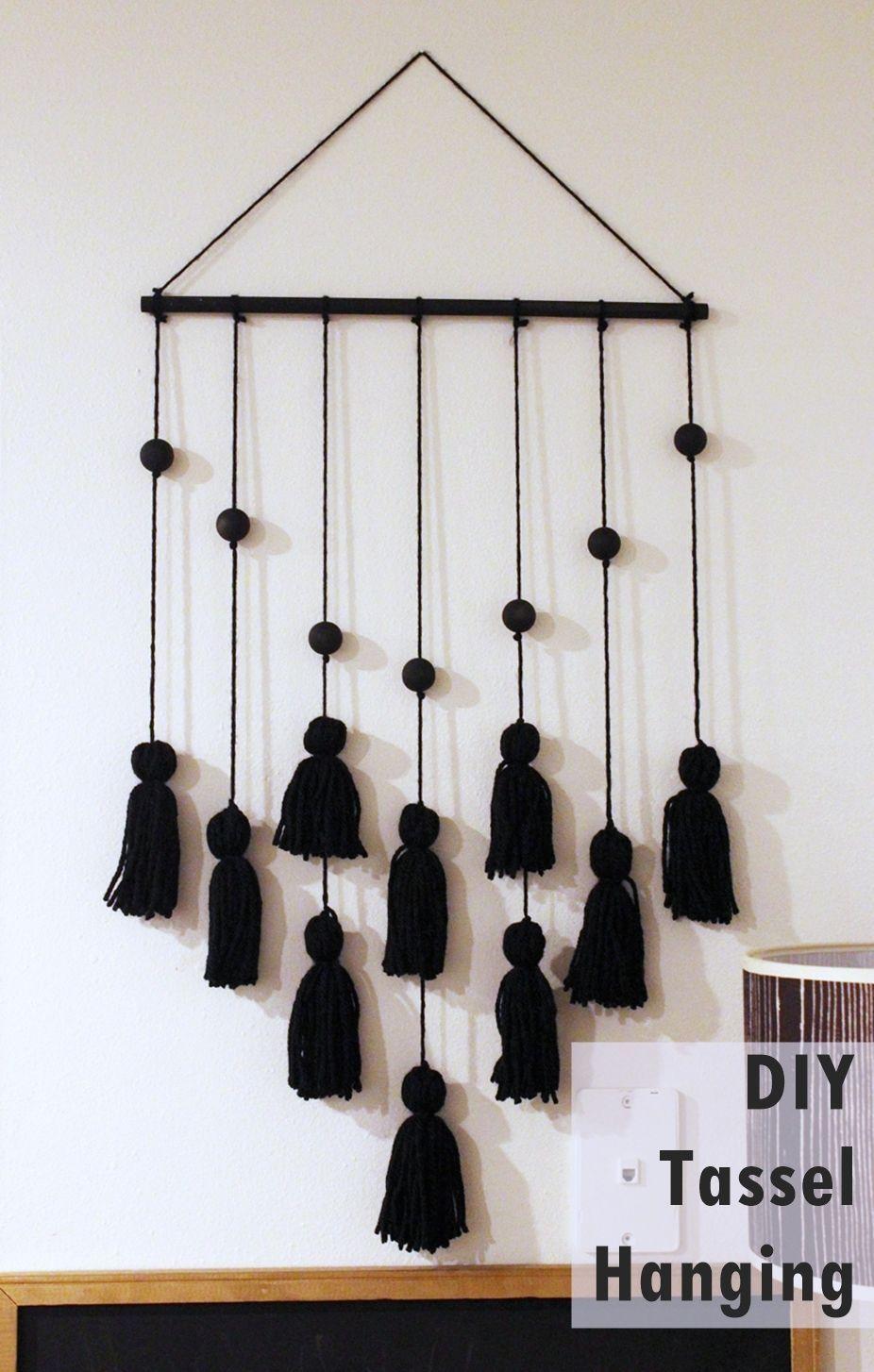 Tassel Hanging DIY Project