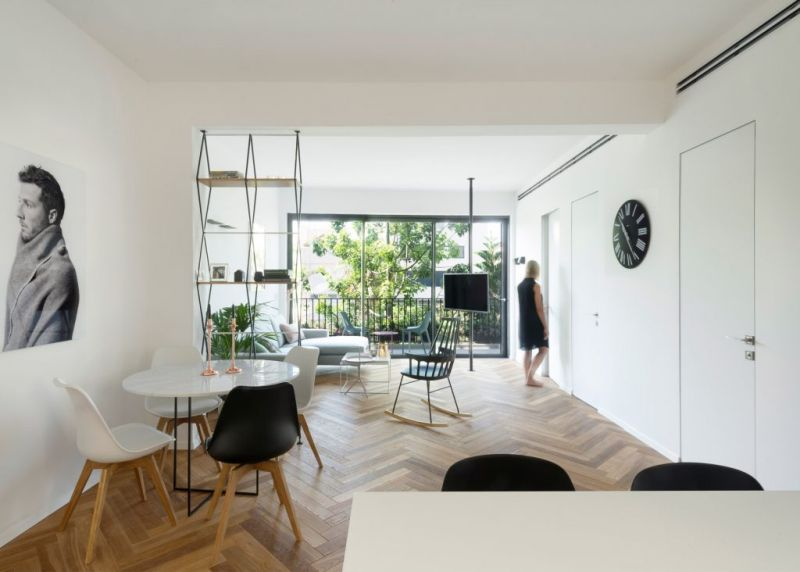 Tel Aviv Apartment Gets A Clean And Sophisticated Makeover