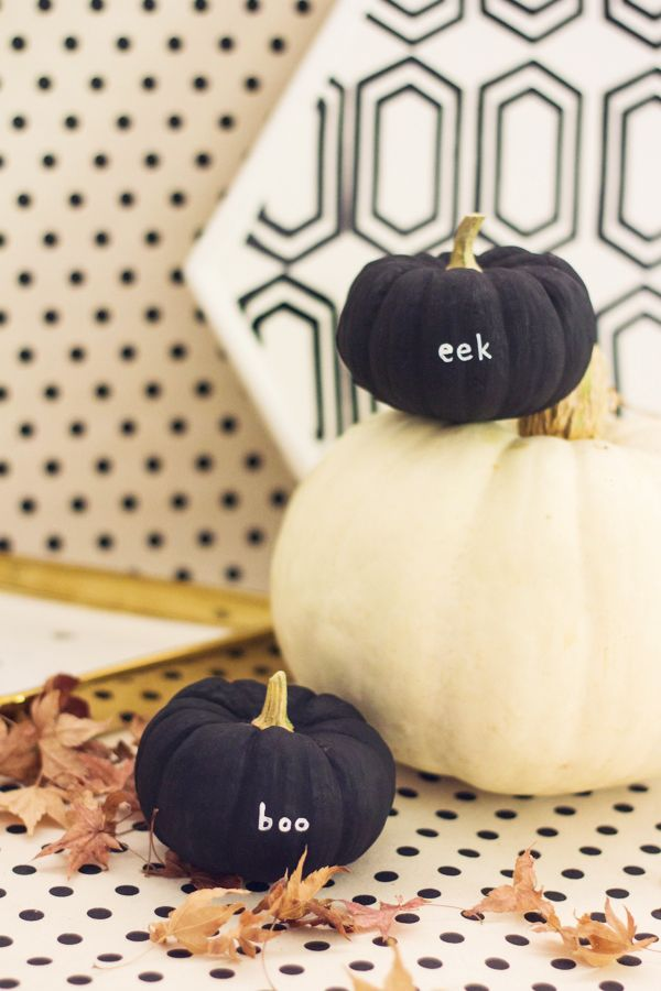 Tiny message pumpkin