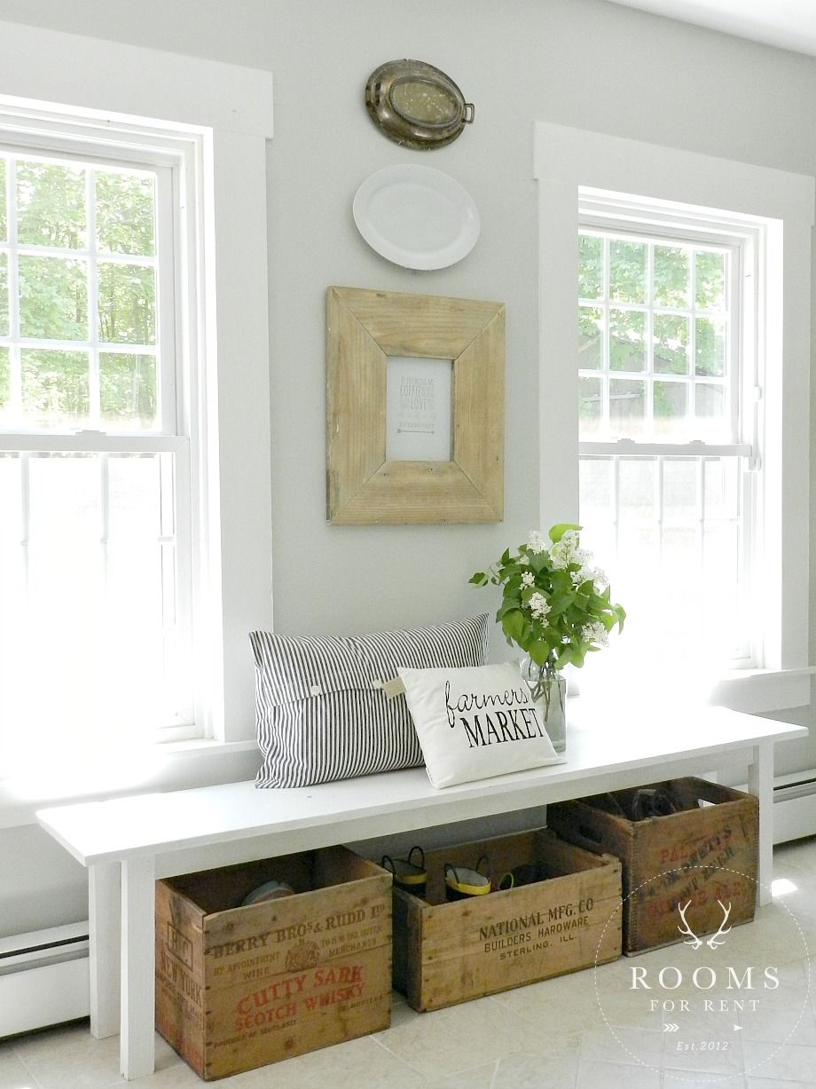 Foyer Decor Work : Ideas to store shoes in your entryway