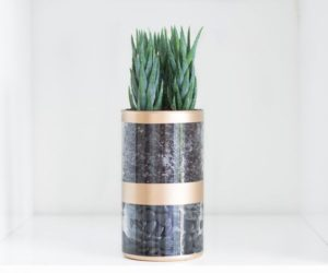 ... Upcycled Painted Planter DIY