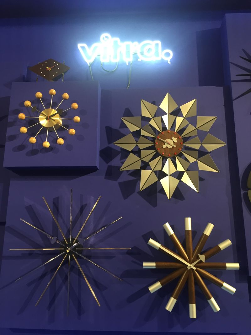 Vitra wall clock collection