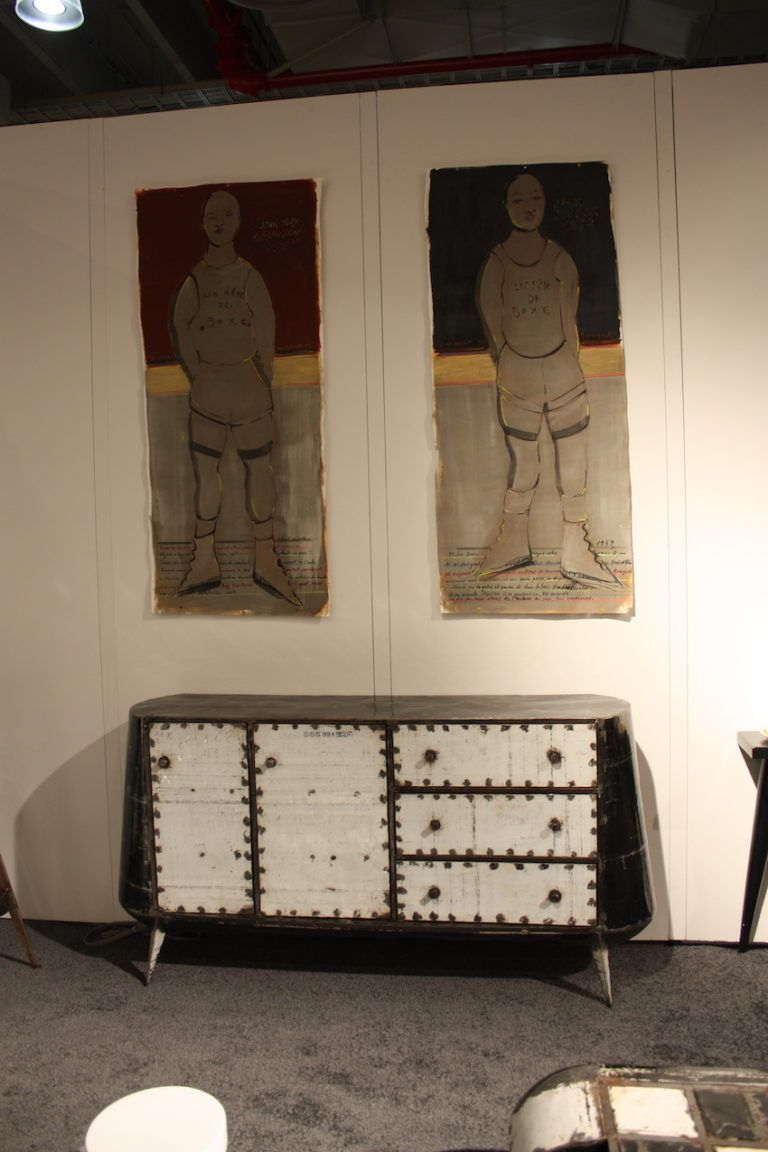 Dresser by Hamed Ouattara, whose work pays homage to his cultural ties.