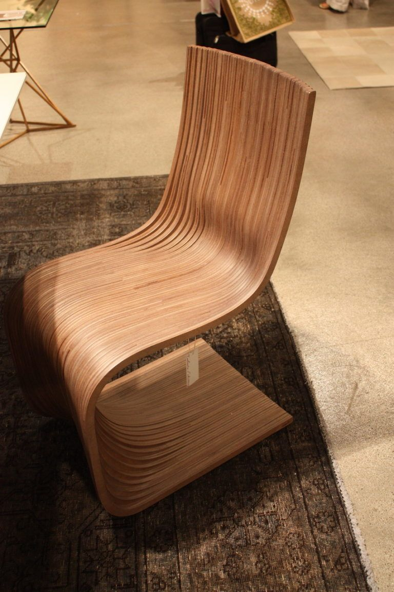 The same design concept makes for a stunning dining chair.
