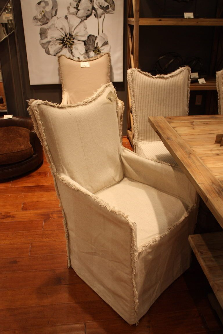 Uttermost Ragged Seam Dining Chair