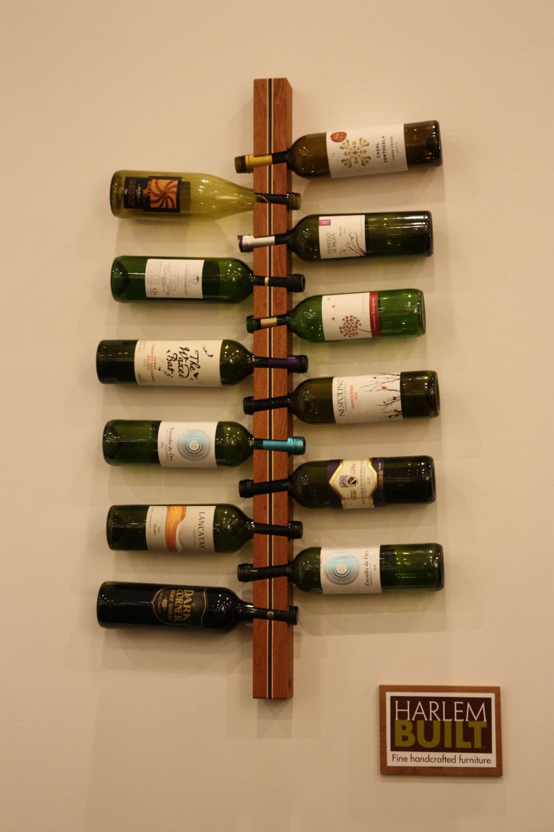12 bottles wine rack support