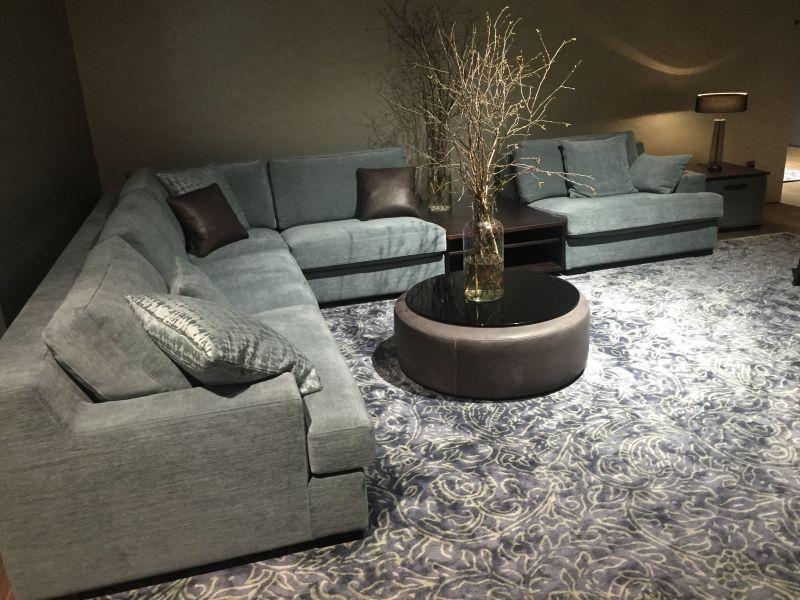 Aero Blue Living Room