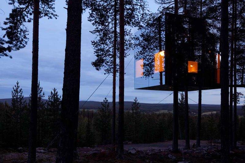 Amazing treehotel microcube