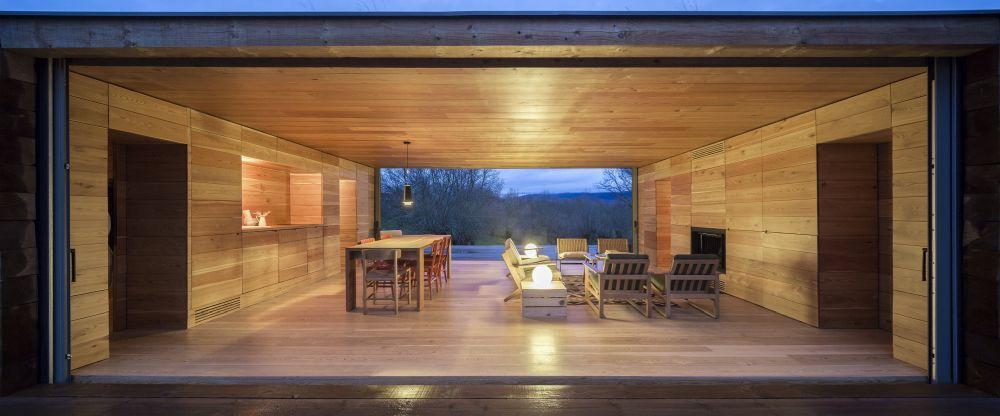 B House from ch+qs arquitectos inetrior