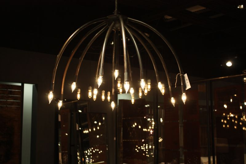 Black Chandelier Design
