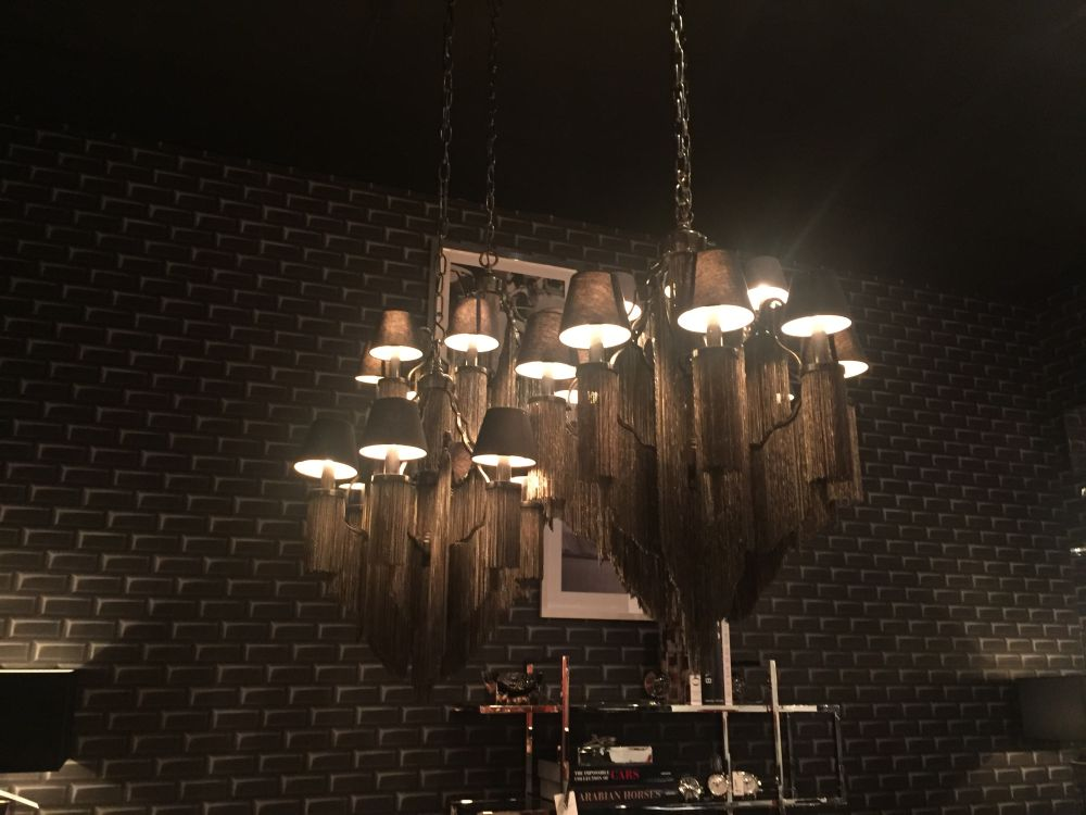 Black chandelier lighting fixtures