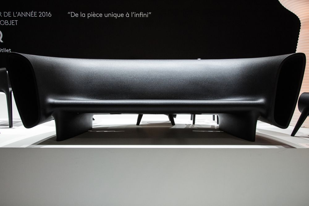 Bum Bum Black Sofa for Vondom