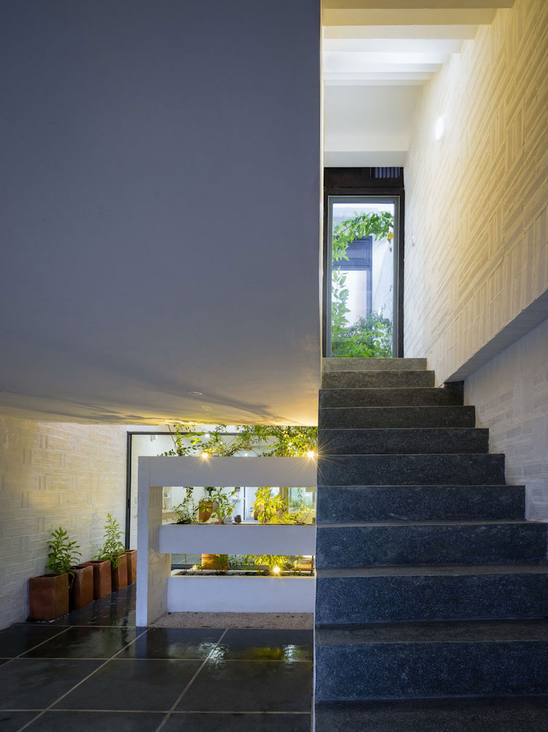 Can Tho House interior staircase