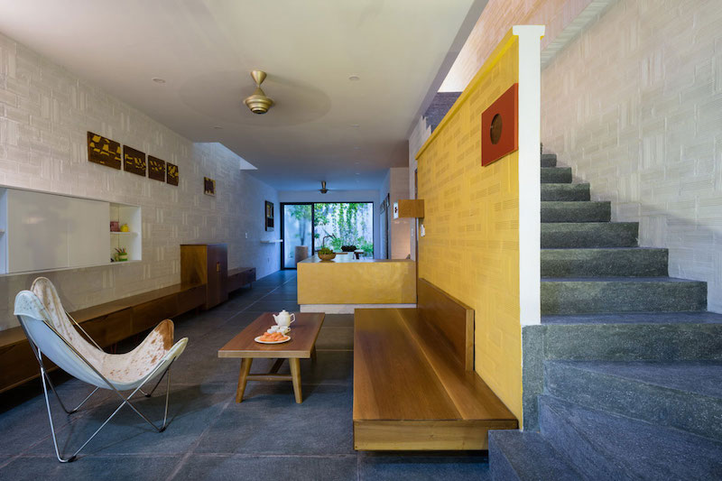 Can Tho House interior stairs