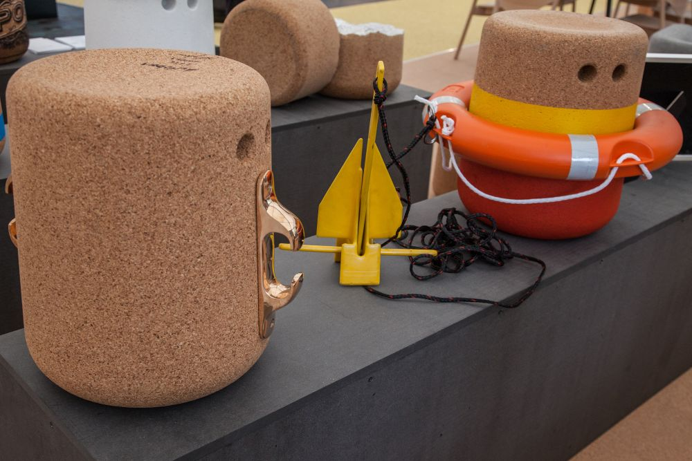 Casper cork Michael Sodeau stool