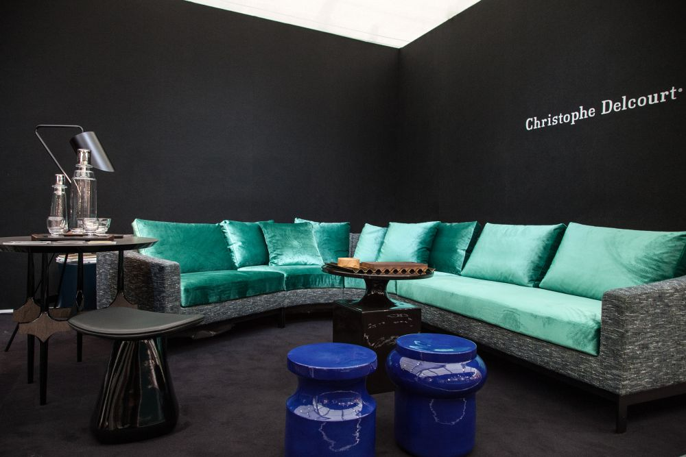 Christophe Delcourt Modular Colorful Sofa
