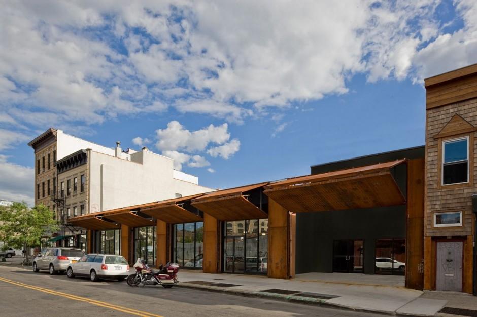 Corten steel Wyckoff Exchange by Andre Kikoski Architect