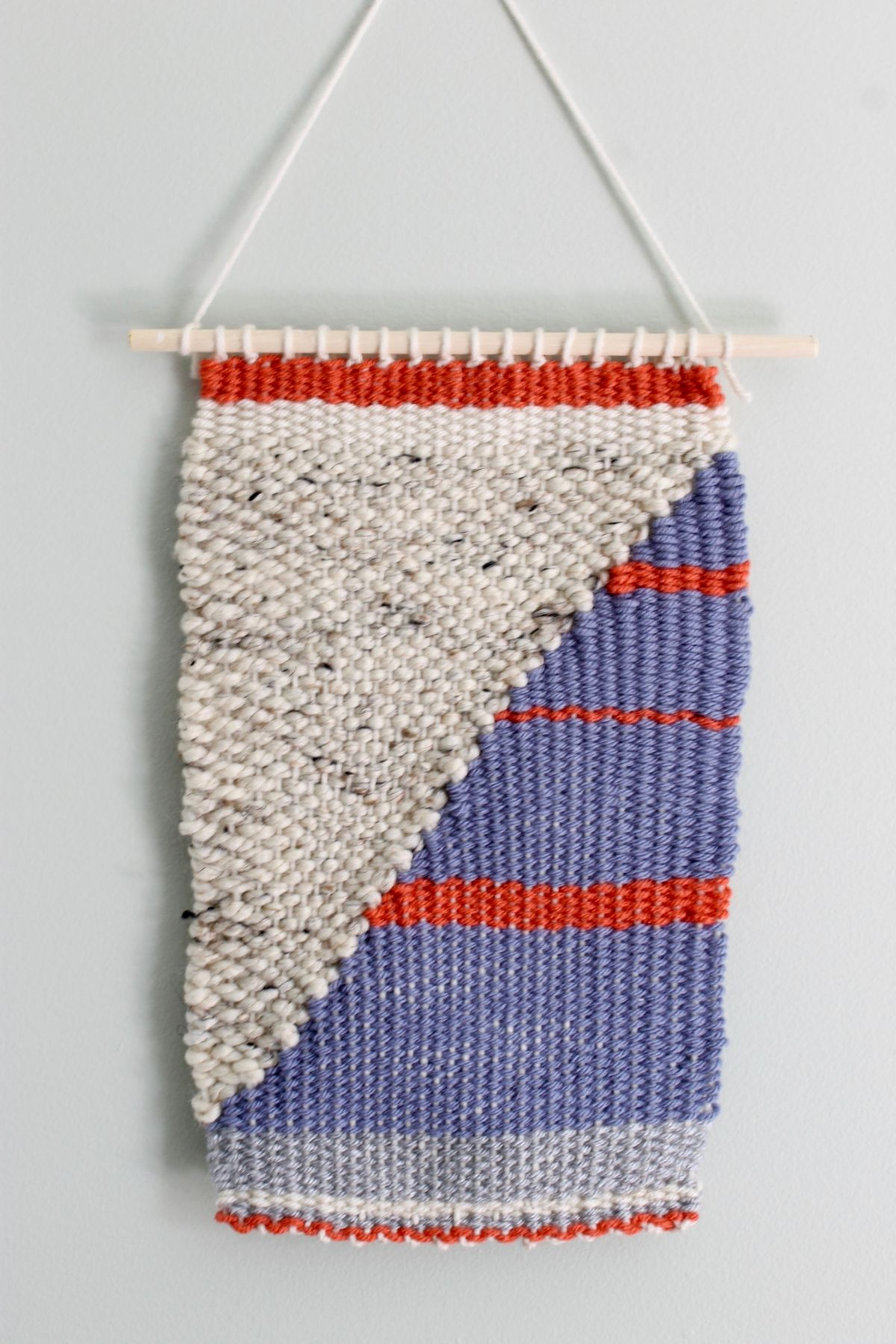 Craft a Loom and Woven Wall Hanging