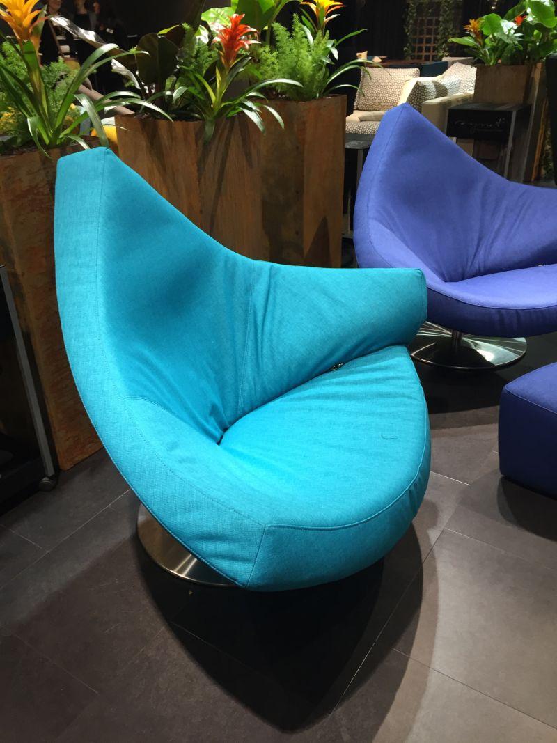 Cyan Aqua Color chairs