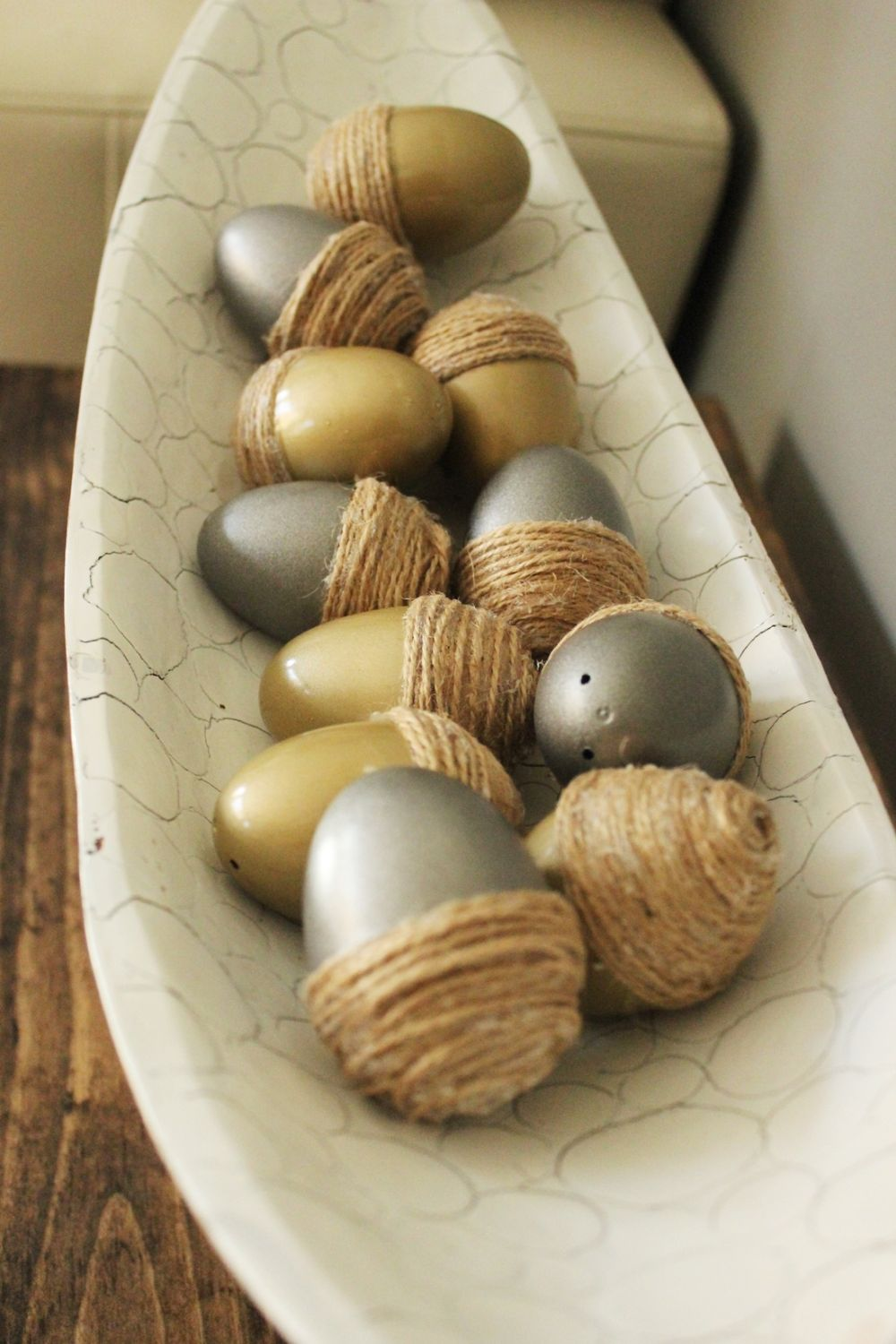 DIY Acorn Eggs Project