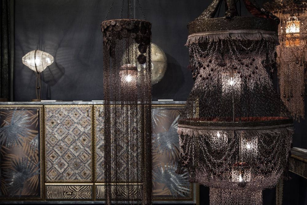 Dark Chandelier Collection Nodi and Nodo