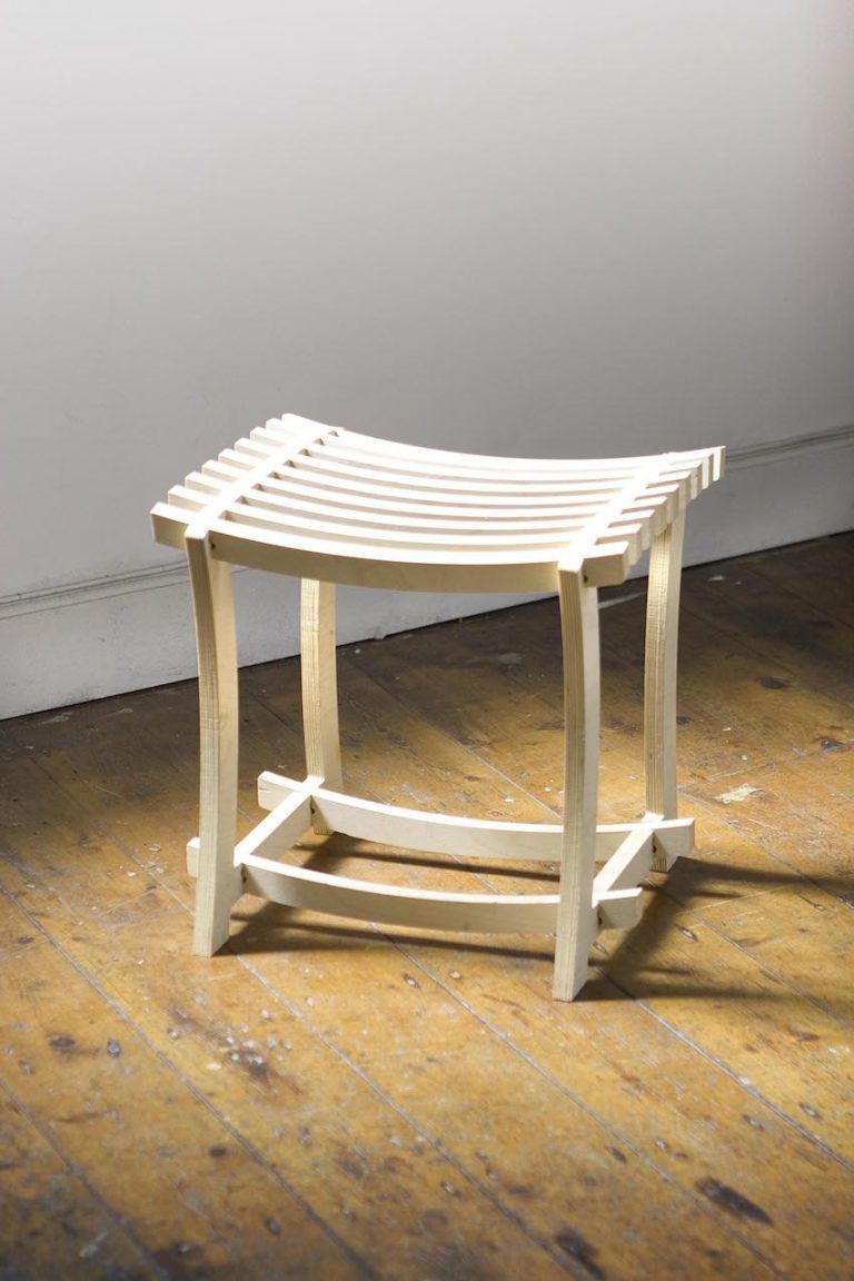 Rawcliffe's Raw Diddy stool.