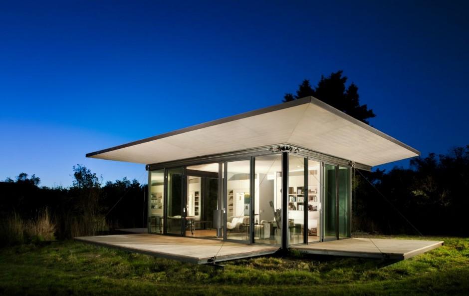 False bay writer cabin design