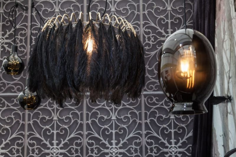 Add A Bit of Drama To Your Life With A Black Chandelier