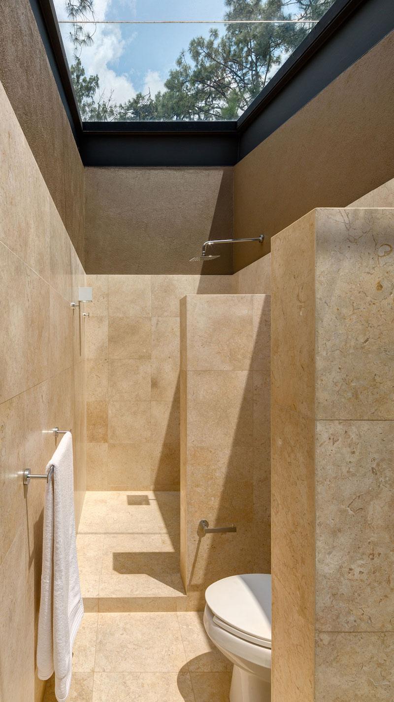 Five Houses condominium master bathroom