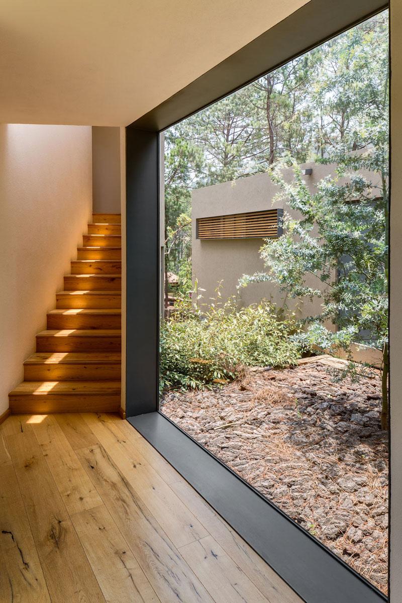 Five Houses condominium panorama window