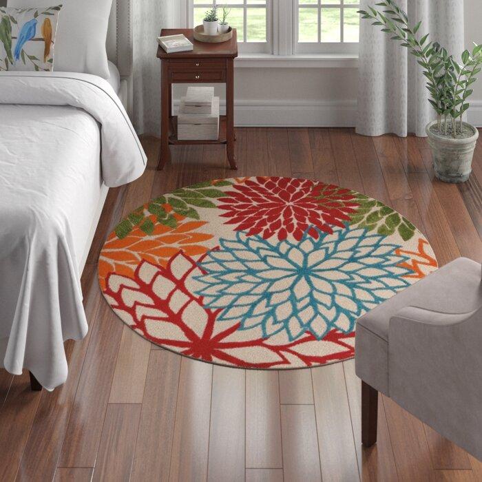 Floral Multicolor Rug