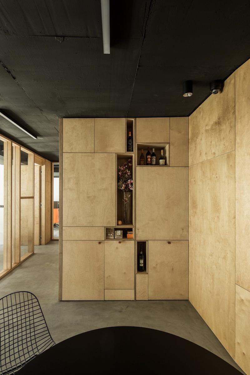 Framehouse office bar area
