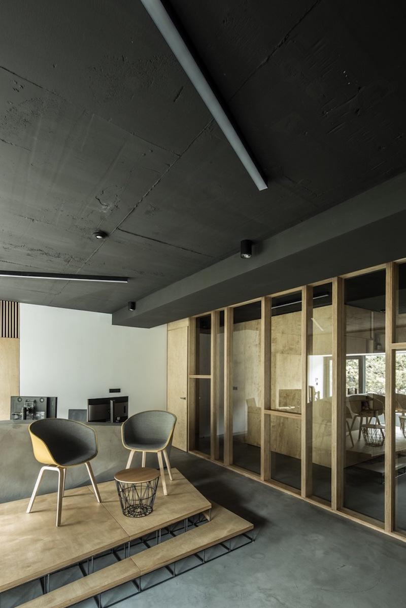 Framehouse office divider