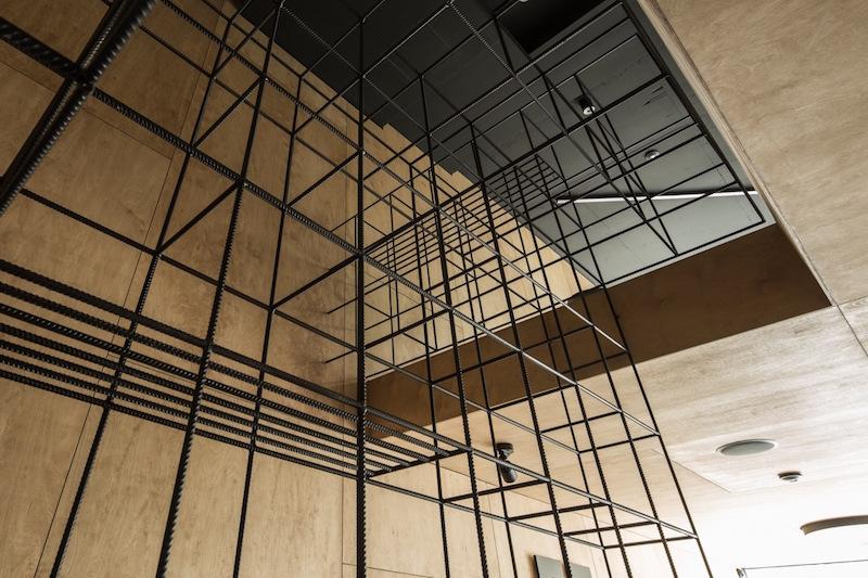 Framehouse office metal shelving unit