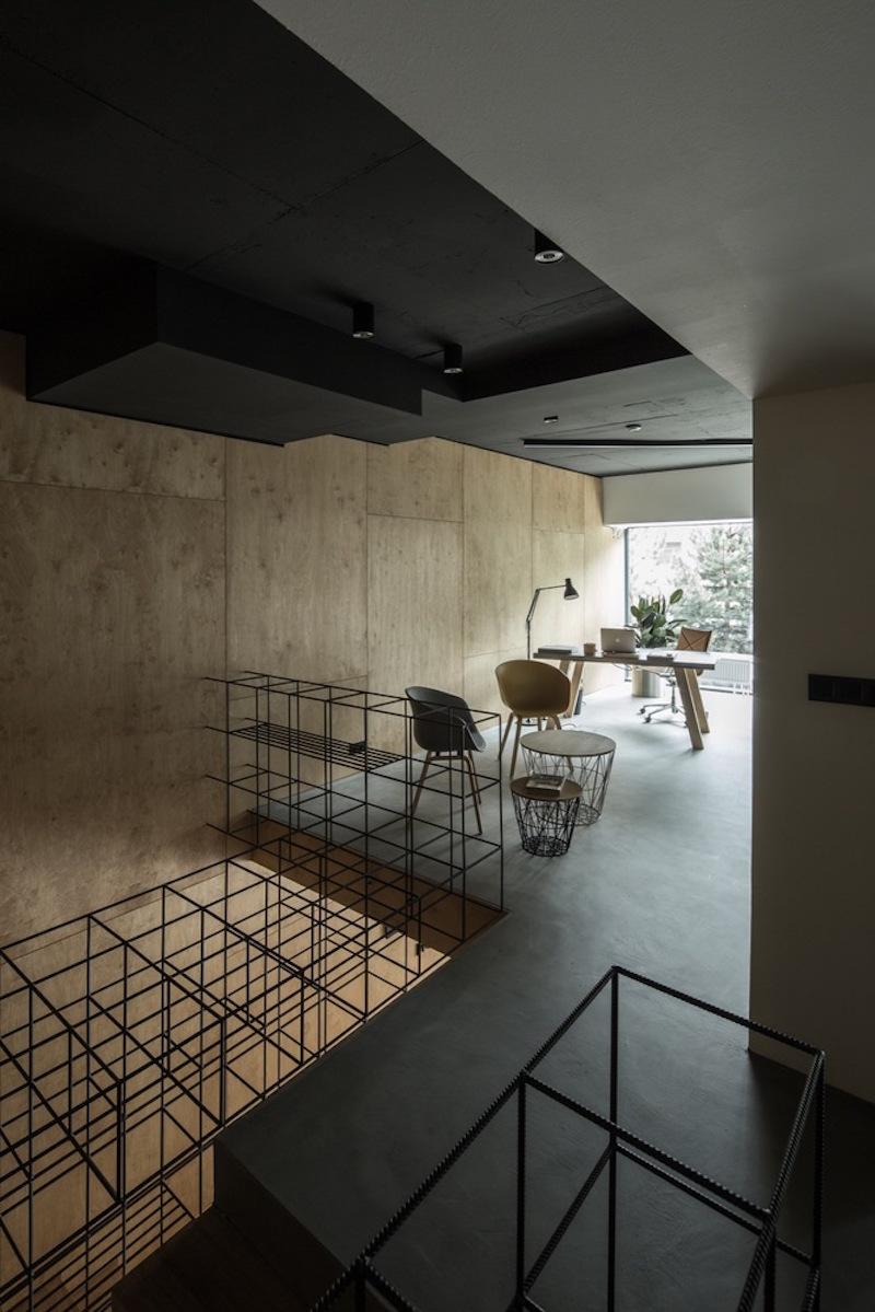 Framehouse office upper level