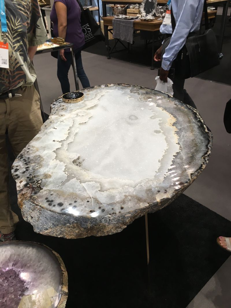 Gemstone coffee table design