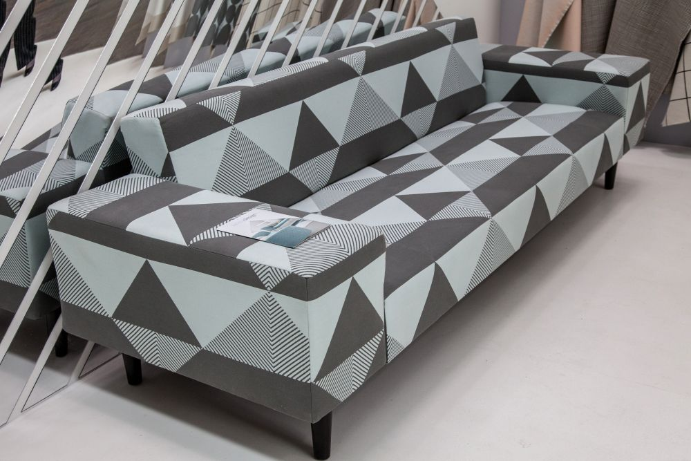 Geo sofa patterns