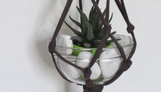 Upcycle A T-Shirt Into A Hanging Planter