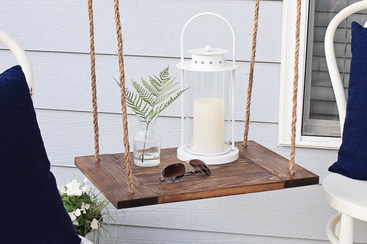 Hanging Shelf Table