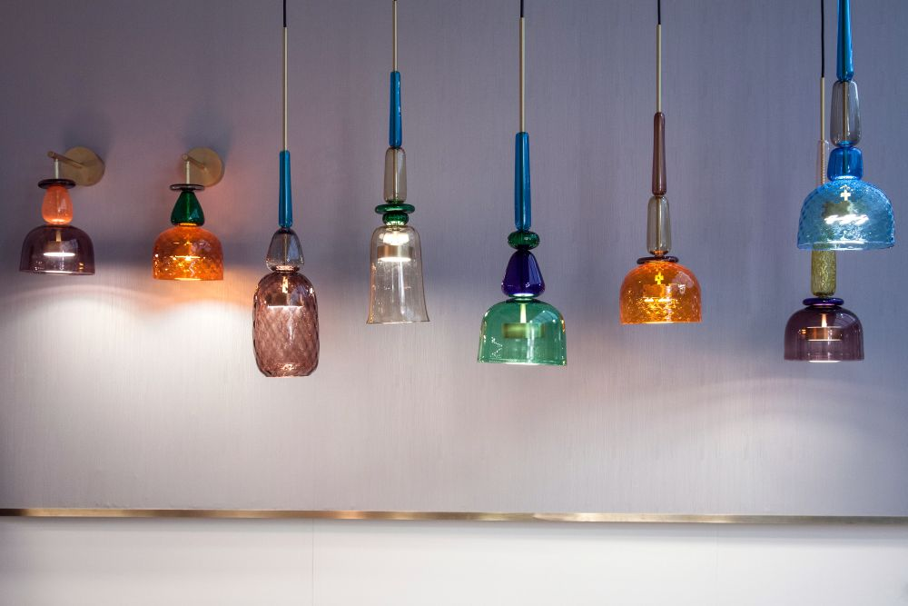 I Flauti Colorful Pendant Lighting Fixtures