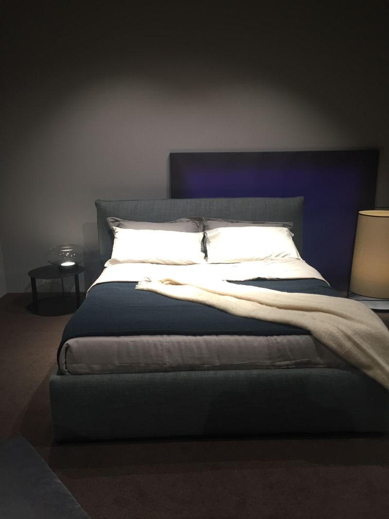 Indigo bedroom design